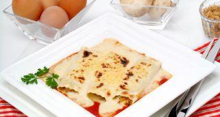 Receta de Canelones rellenos de huevo y atn  Bruno Oteiza