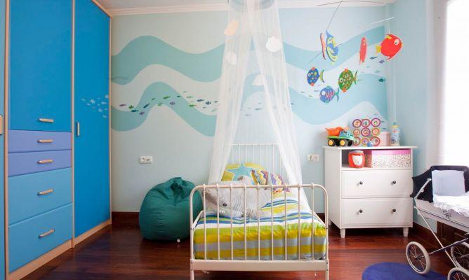 Habitacin infantil con sabor a mar  Decogarden