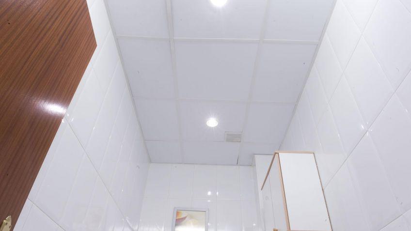 Falso techo para lmparas  Bricomana