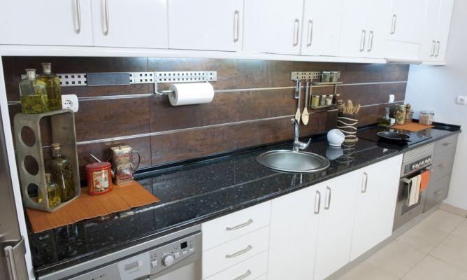 Cambio de encimera de cocina Bricomana