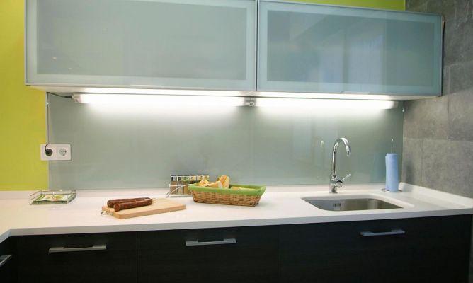 Iluminar encimera de cocina  Bricomana