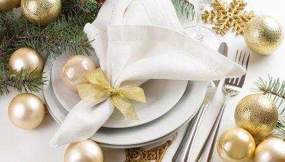 Consejos para poner la mesa en Navidad  Hogarmania