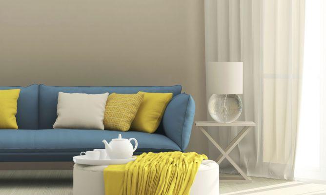 Cmo combinar un sof azul  Hogarmania