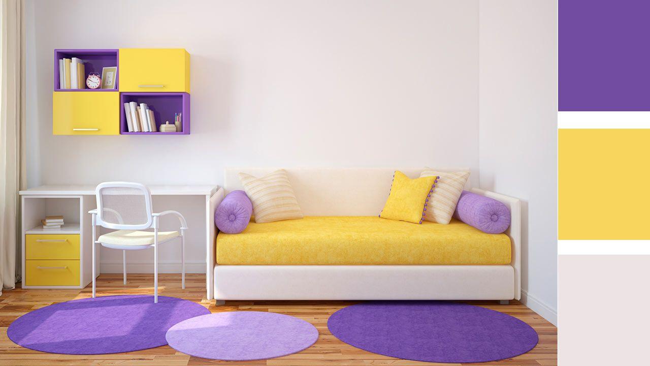 4 opciones para combinar colores en una habitacin juvenil