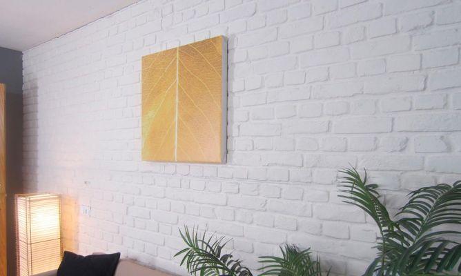 Cubrir pared con ladrillo decorativo  Bricomana