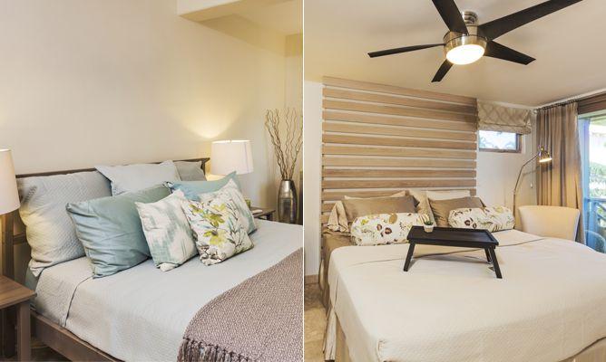 Dormitorios luminosos en colores tierra  Hogarmania