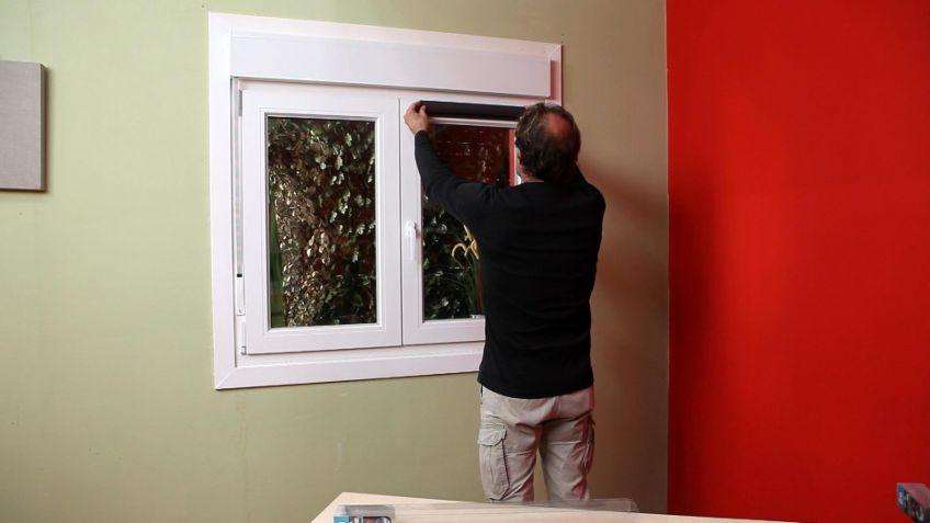 Estor para ventanas abatibles  Bricomana