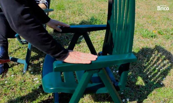Recuperar silla de plstico  Bricomana