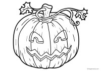 Calabazas Halloween Colorear. Good Dibujos De Halloween ...