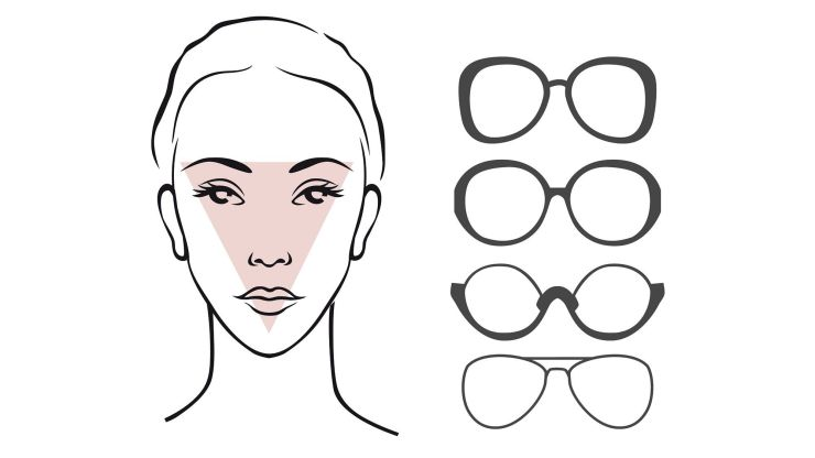 glasses for triangular face