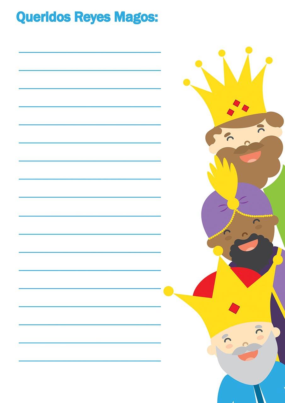 Modelo De Carta A Los Reyes Magos Para Imprimir Cartas A