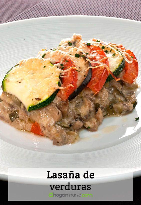 Receta de Lasaa de verduras  Bruno Oteiza