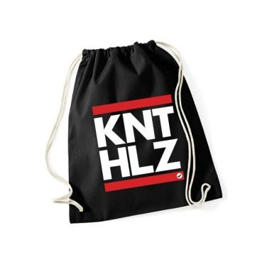 Sportbeutel-KNT HLZ schwarz