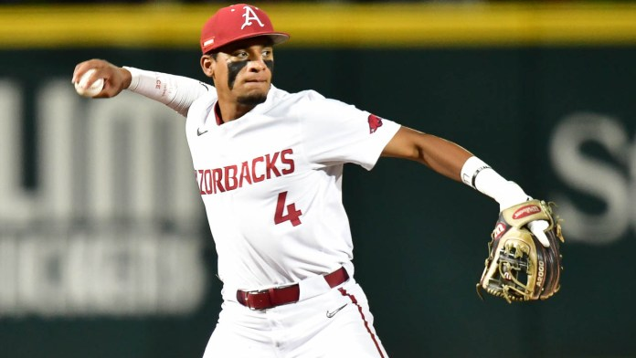Hogs down Bulldogs, 3-0, in pitchers' duel Friday night