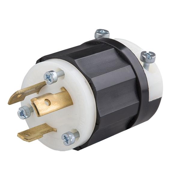 Twist Lock Plug Male 30a 250v Phase 1