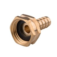 "1/2"" Female Brass Garden Hose End Barb 