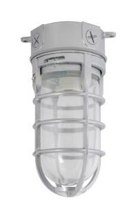 Incandescent Bulb Vapor Tight Ceiling Fixture | Hog Slat