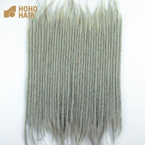 Double-ended dreadlocks extensions human hair