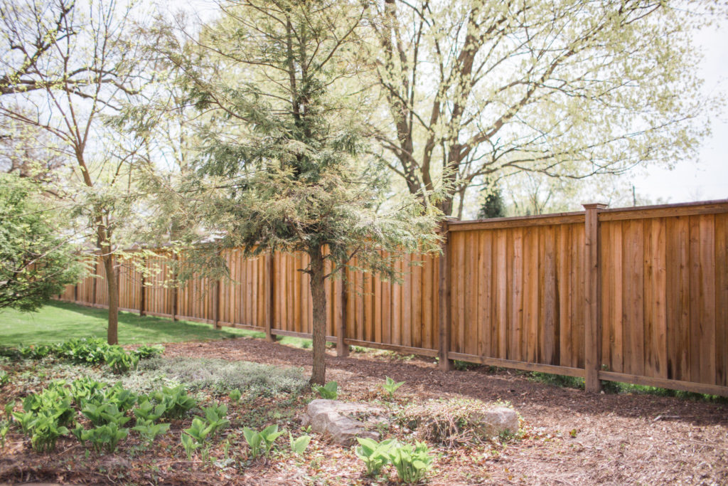 wood fencing hohulin fence