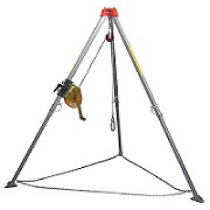 Rescue Tripod, designed to be used with Yale Rescue winch