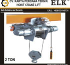 HOIST ELK 2 ton Seri HKDS-0202 JUAL HOIST MADE IN CHINA