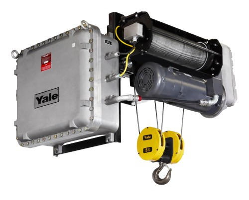 small resolution of explosion proof option for yale global king wire rope hoist