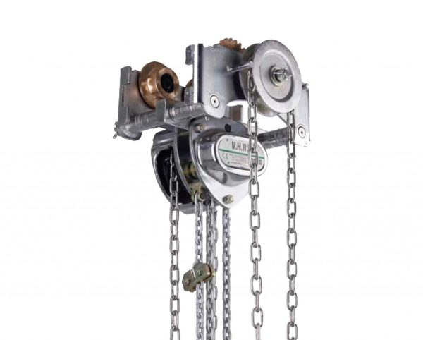 VHR EX Sparkproof Manual Chain Hoist with Low Headroom