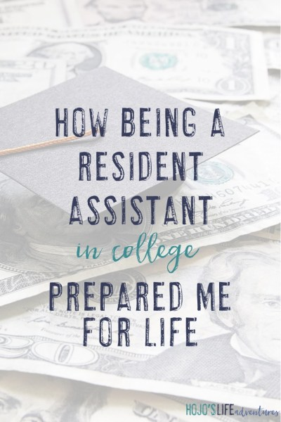 How Being a Resident Assistant Prepared Me for Life