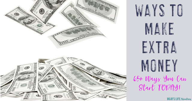 Here is a list of 65+ ways to make extra money! Whether you're trying to pay off debt, save for retirement, or just have some fun money - this list is for you!