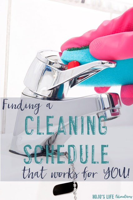 Cleaning can be tough! There's only so many hours in a day, yet you want your home clean. Find a cleaning schedule that works for you and stick to it. Get ideas here!