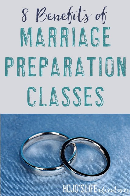 Here are the eight benefits of marriage preparation classes. The biggest factor to consider is keeping an open mind! But point #7 is definitely the most rewarding!
