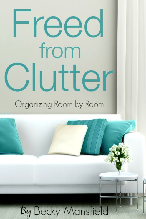 Getting rid of clutter doesn't have to be hard! Here a mom of four shares how she has gotten rid of the clutter monster and taken control of her home once again. Click through to learn more!