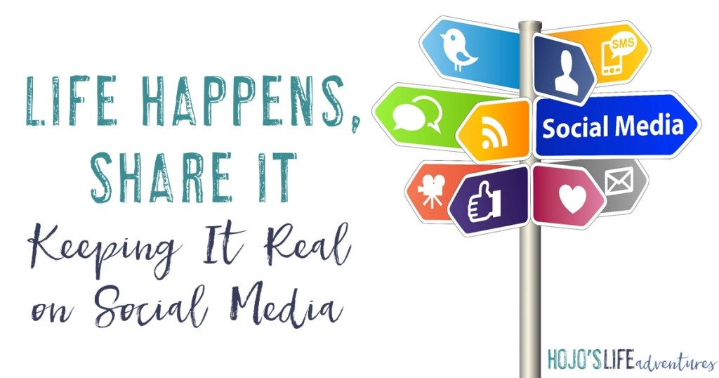 Are you keeping it real on social media? See the types of things one mom shares and her three easy tips for keeping it real.