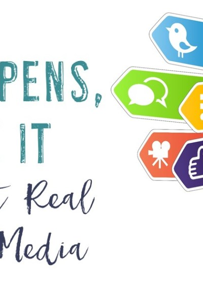 Life Happens, Share It! {Keeping It Real On Social Media}