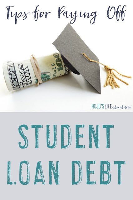 Student loan debt can become all consuming if you let it. Find out how one blogger got her loans paid off and the tips she learned along the way to make student loan repayment even easier!