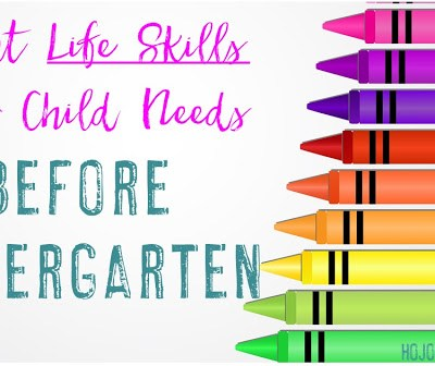 8 Life Skills Your Child Needs Before Kindergarten