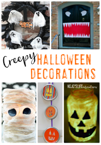 Do you love Halloween? Then you're going to love this round up of 18 creepy Halloween decorations! Bring your entire home to life this October and enjoy the spooky season all month long!
