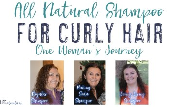 All Natural Shampoo for Curly Hair