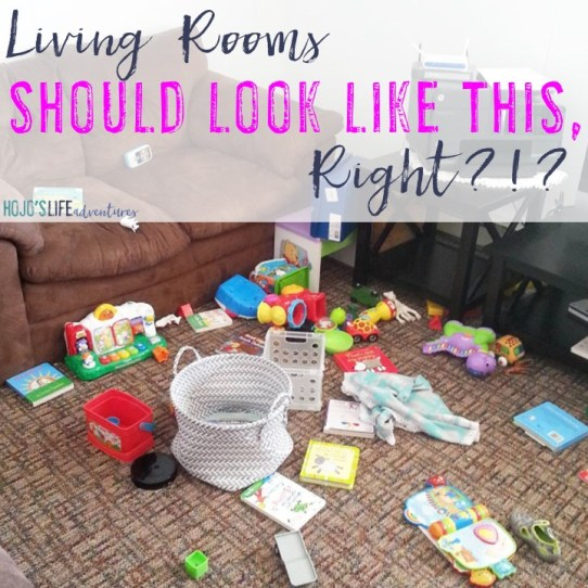 If you're looking for activities for your 12-18 month old, you're in the right spot! Your living room may look like this when it's all said and done, but your child will have had a wonderful time!