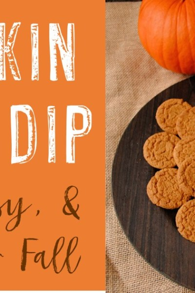 Quick & Easy Pumpkin Spice Dip