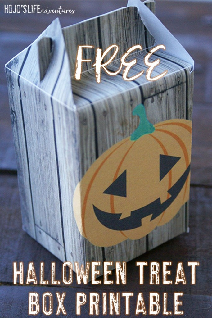 You're going to LOVE this FREE Halloween treat box printable! Use it for trick-or-treaters, as a classroom gift, or for ANY fall occasion you can think of!