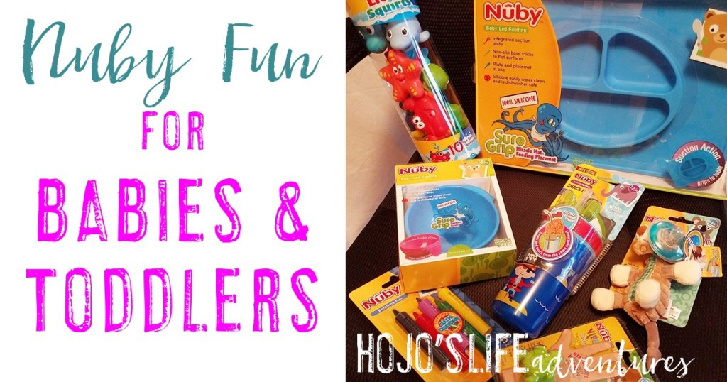 If you're on the lookout for some great items for your baby or toddler, these products from Nuby will NOT disappoint! #ad