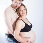 zwangerschapsfotografie - bolle buik Rotterdam