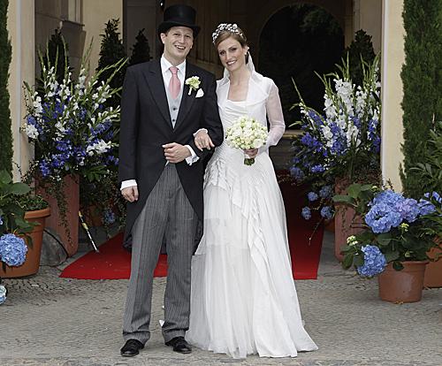 Jorge Federico de Prusia y la princesa Sofía de Isenburg