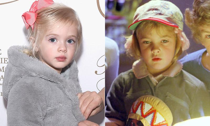 Drew Barrymore presenta el regreso de la nia de ET