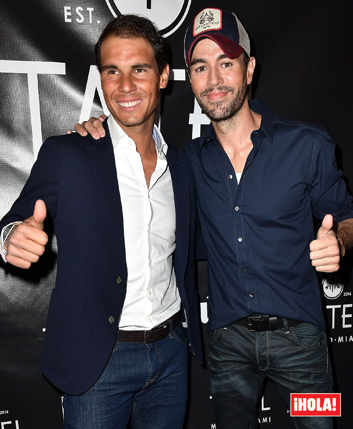 Qu hacan juntos Enrique Iglesias y Rafa Nadal en Miami