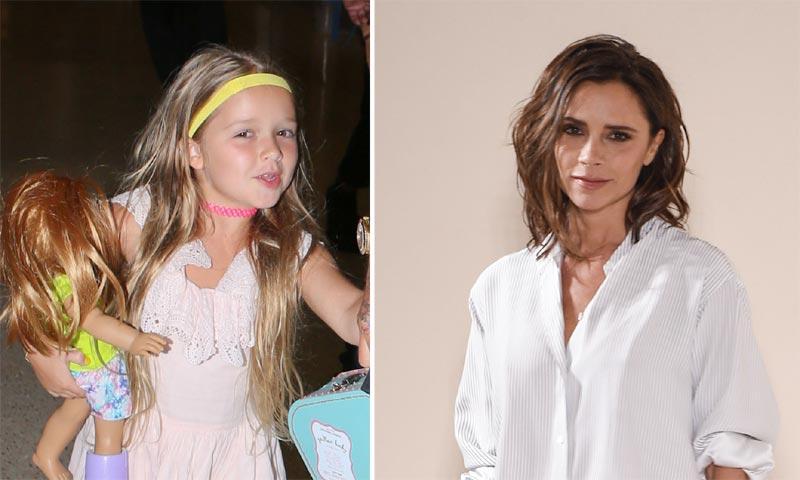 Victoria Beckham ya tiene sucesora as de bien marca el ritmo su hija Harper
