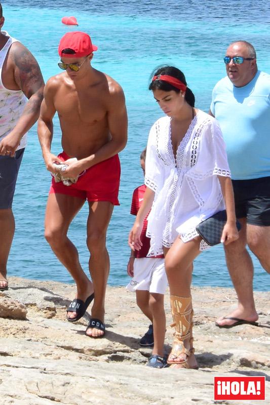 Cristiano Ronaldo y Georgina coordinacin total tambin