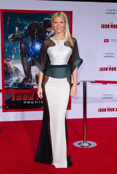 Gwyneth Paltrow la ms bella y atrevida en el estreno