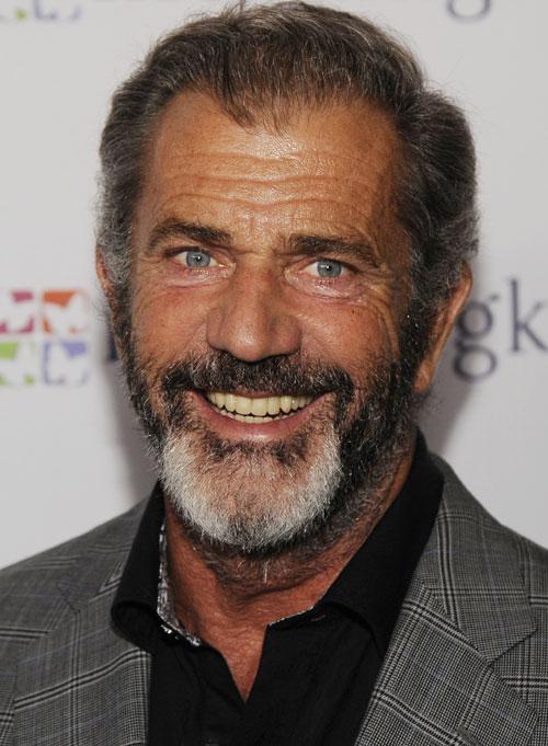 Ms Delgado Y Con Barba Mel Gibson Presume De Nuevo Look
